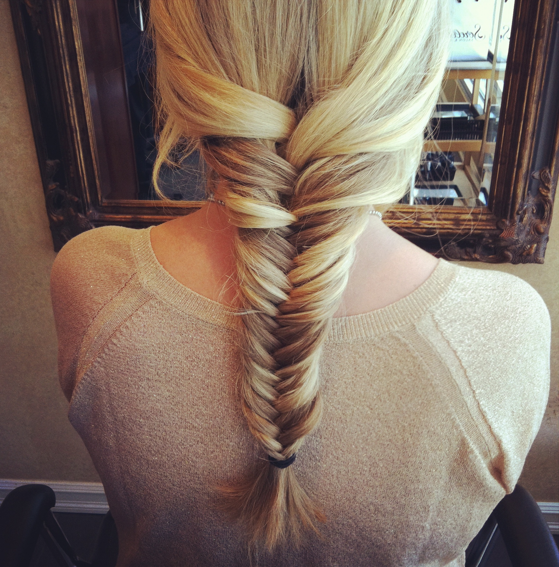 fishbone braid instructions - photo #7