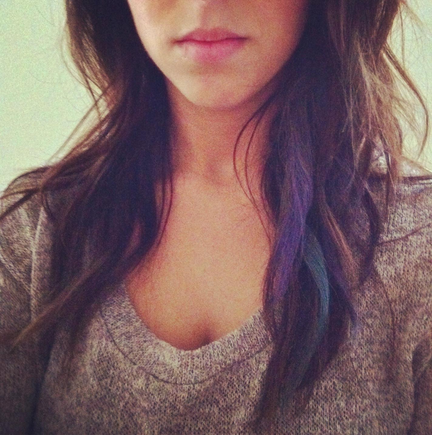 Tutorial Pastel Hair Chalking Sorella Salon Amp Spa