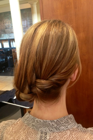 French Braid Side Knot