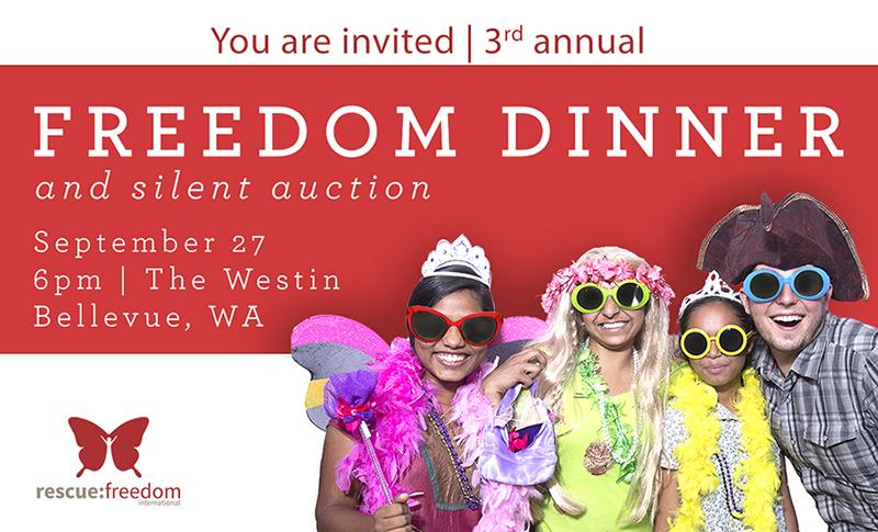 freedom dinner invite